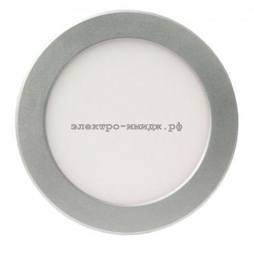 Панель светодиодная PPL-RP 15W 240V 4000K 1200Lm 200/180мм серый JazzWay