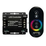 Контролер для RGB ленты 12/24V 216/432W RFC18AESB Ecola
