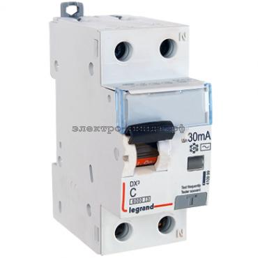 Дифференциальный автоматический выключатель 411004 Legrand DX3 1P+N 25A (C) 30mA