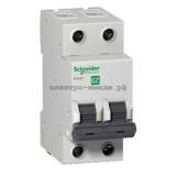 Автоматический выключатель EZ9F34206 C6 2p 6A EASY 9 SE