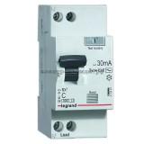 Дифференциальный автоматический выключатель 419397 Legrand RX3 1P+N 10A (C) 30mA
