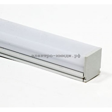 Профиль CAB275/1 LED 21х14 (2м) накладной FERON