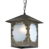 Светильник Odeon Light 2747/1C Visma коричневый/пластик