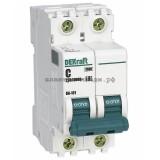 Автоматический выключатель ВА-101 01A 2P C 4,5кА DEKraft