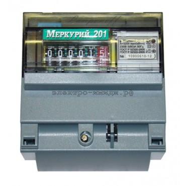 Счетчик Меркурий 201.5 1ф 5-60А