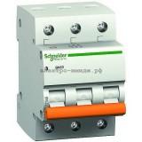 Автоматический выключатель 11221 ВА63 C6 3p 6A Домовой SE