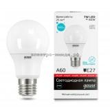 Лампа светодиодная LED-A60 7W 4100K E27 220V Gauss elementary