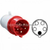 Вилка переносная 015 3Р+РЕ+N 16А 380В IP44