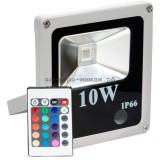 Прожектор светодиодный LL-271 1LED*10W-RGB 230V (IP65) 135*120*45mm пультом