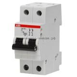 Автоматический выключатель SH202L C06 2p 6А ABB 2CDS242001R0064