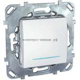 Выключатель MGU5.201.18NZD 1-кл c подсветкой