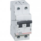 Автоматический выключатель 419694 Legrand RX3 6A (C) 2p 4.5kA
