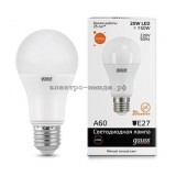 Лампа светодиодная LED-A60 20W 2700K E27 Gauss elementary