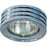 Светильник DL233 MR16 G5.3 круг хром