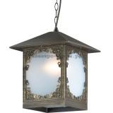 Светильник Odeon Light 2747/1 Visma коричневый/пластик