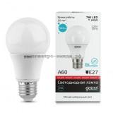 Лампа светодиодная LED-A60-elementary 7W E27 4100K 540Lm Gauss