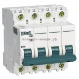 Автоматический выключатель ВА-101 10A 4P C 4,5кА DEKraft