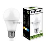 Лампа светодиодная LED-A60 12W LB-93 4000К E27 220V Feron