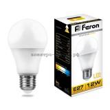 Лампа светодиодная LED-A60 12W LB-93 2700К E27 220V Feron