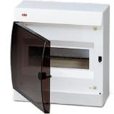 Корпус навесной с дымчатой дв. 8 мод. Unibox ABB