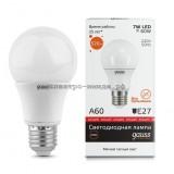 Лампа светодиодная LED-A60-elementary 7W E27 2700K 520Lm Gauss