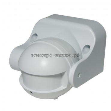 Датчик движения FERON SEN42 микроволновый 1200W 8м 180 белый