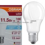 Лампа светодиодная LED-A60 CLA40 11.5W E27 6500K 1060Lm Osram