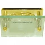 Светильник 3781 R50 Е14 со стеклом золото