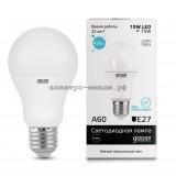 Лампа светодиодная LED-A60 10W 4100K E27 220V Gauss elementary