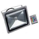 Прожектор светодиодный LL-275 1LED*50W-RGB 230V (IP65) 290*290*70mm пультом
