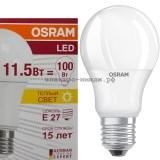 Лампа светодиодная LED-A60 CLA40 11.5W E27 2700K 1060Lm Osram