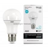 Лампа светодиодная LED-A60 15W 4100K E27 220V Gauss elementary