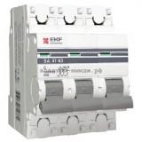 Автоматический выключатель ВА 47-63 16А 3р (C) 4,5kA EKF PROxima