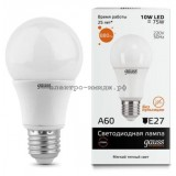 Лампа светодиодная LED-A60-elementary 10W E27 2700K 880Lm Gauss