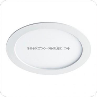 Панель светодиодная PPL-RP 12W 240V 6500K 960Lm 170/150мм белая JazzWay