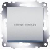 Выключатель 1-кл ABB Cosmo алюминий 619-011000-200