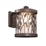 Светильник Odeon Light 2287/W1 Larga патина коричневый IP44