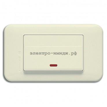 WSN 0324 Выключатель 1-кл. с инд.
