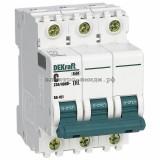 Автоматический выключатель ВА-101 01A 3P C 4,5кА DEKraft