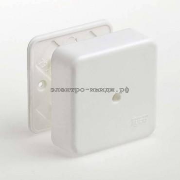 Коробка распределительная ОУ 65005 (80*80*25) IP40 белый