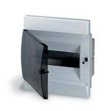 Корпус встраиваемый с дымчатой дв. 12 мод. Unibox ABB