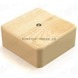Коробка распределительная ОУ GE41215-11 IP40 (75*75*28) цвет сосна