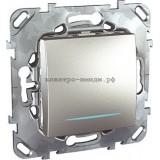 Выключатель MGU5.201.30NZD 1-кл c подсветкой