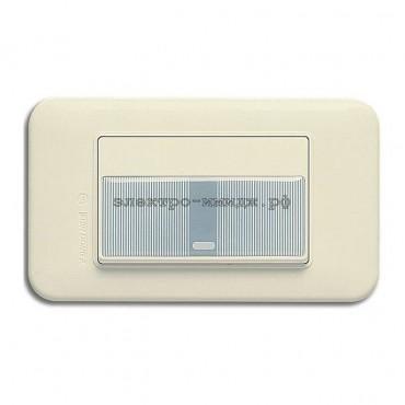 WSN 0121 Выключатель 1-кл. (резин. накладка)