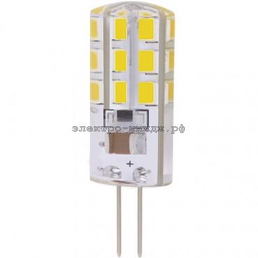 Лампа светодиодная LED-JC 3.0W 220V G4 4000K 200Lm Jazzway