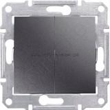 Выключатель SDN0300170 2-кл SE Sedna графит