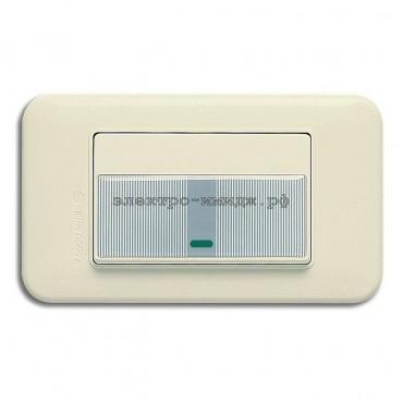 WSN 0224 Переключатель 1-кл. с инд (резин. накладк