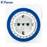 Розетка с таймером Feron TM32 3500W/16A (суточная)