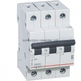 Автоматический выключатель 419705 Legrand RX3 6A (C) 3p 4.5kA