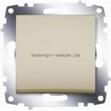 Выключатель 1-кл ABB Cosmo титаниум 619-011400-200